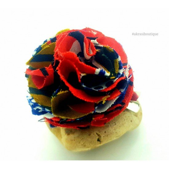 Carnation pin | flower hair clip | flower brooch | clothing accessories